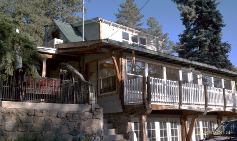 Our house in Evergreen Colorado